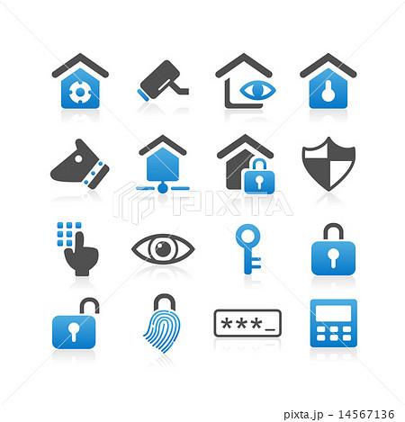 Home security concept icon 14567136