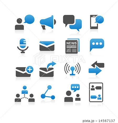 Communication concept icon 14567137