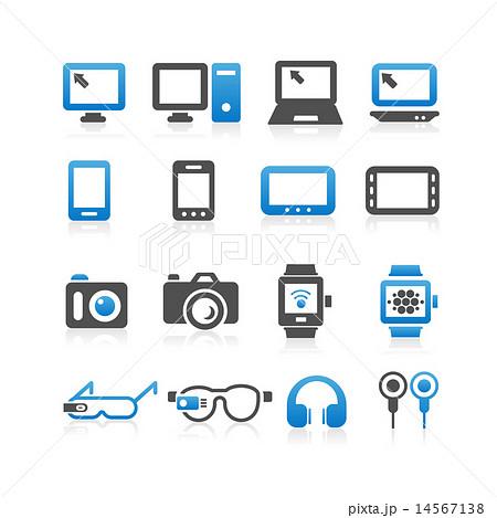 Electronic product icon set 14567138