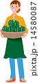 ベクター 女性 農家のイラスト 14580087