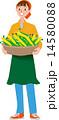 ベクター 女性 農家のイラスト 14580088