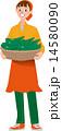 ベクター 女性 農家のイラスト 14580090