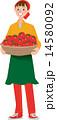 ベクター トマト 女性のイラスト 14580092