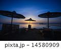 夕日 夕焼 日没の写真 14580909
