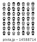 アイコン 世代 ベクターのイラスト 14588714
