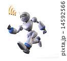 ロボット 走る 急ぐのイラスト 14592566