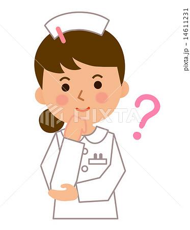看護師が考えるのイラスト素材 14611231 Pixta