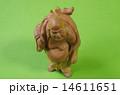 木彫り 布袋 置物の写真 14611651