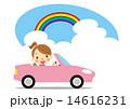 ドライブ ベクター 車のイラスト 14616231