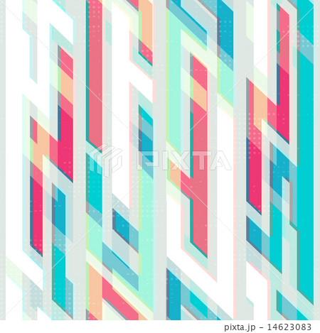 blue geometric seamless pattern 14623083