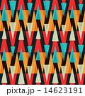 ジオメトリック 幾何学的 トライアングルのイラスト 14623191