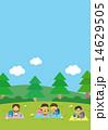 遠足をする子供 14629505