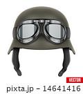 保護用の ヘルメット かぶとのイラスト 14641416