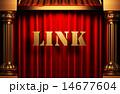 カーテン 単語 リンクのイラスト 14677604