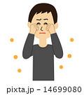 ベクター アレルギー 花粉症のイラスト 14699080