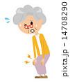 痛み ベクター 痛むのイラスト 14708290