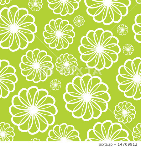 Flower Seamless Pattern Background Vector Illustration 14709912
