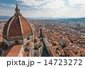 フィレンツェ ドゥオーモ 街並みの写真 14723272