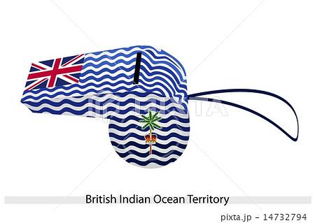 A Whistle of British Indian Ocean Territoryのイラスト素材 [14732794] - PIXTA