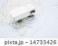 配送トラックイメージ 14733426