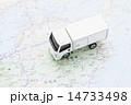 配送トラック 14733498