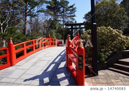宮城県護国神社(本丸跡) 浦安橋 14740083