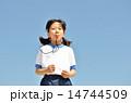 笛 吹く 子供の写真 14744509