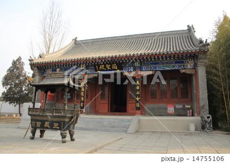 中国 たく州 三義宮 14755106