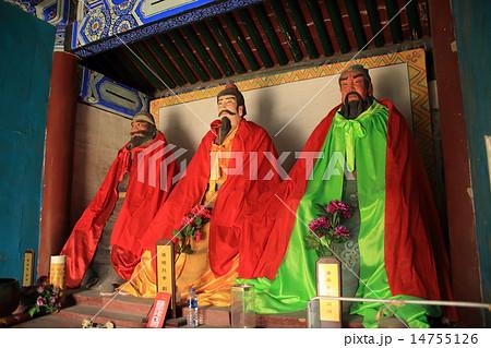 中国 たく州 三義宮 14755126