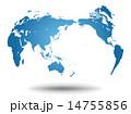 世界地図・グローバルイメージ 14755856