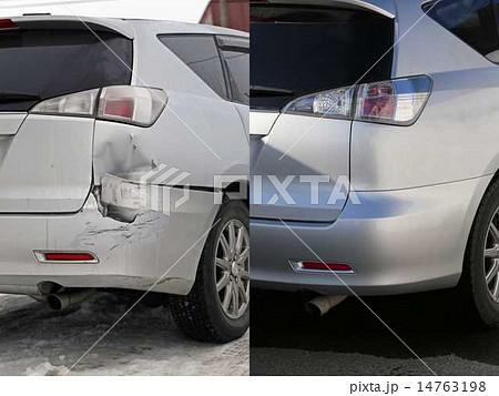 自動車の修理 Before After 14763198