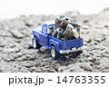 金属運搬トラック 14763355