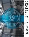 デザイン 柄 テクノロジーのイラスト 14765620
