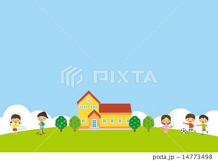 小学生と小学校 14773498