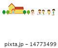 学校で遊ぶ子供たち 14773499