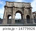 コンスタンティヌスの凱旋門 遺跡 凱旋門の写真 14779926