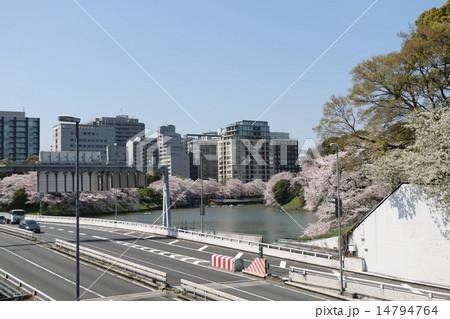 桜の見える風景 14794764