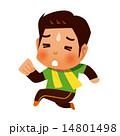 つらい ジョギング ベクターのイラスト 14801498