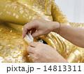 像 彫像 ゴールドリーフの写真 14813311