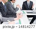 資料 ビジネスウーマン ビジネスマンの写真 14814277