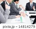 資料 ビジネスウーマン ビジネスマンの写真 14814279