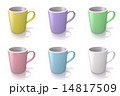6種類のカラーマグカップ 14817509