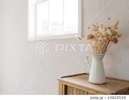 ドライフラワーの写真素材 [14820526] - PIXTA