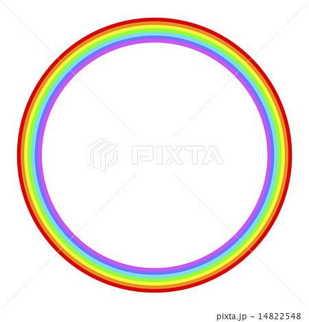 虹の輪のイラスト素材 [14822548...