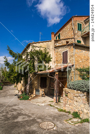 イタリア トスカーナ ピエンツァの民家 14824954