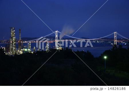白鳥大橋の夜景 14826186