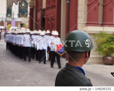 タイの王宮護衛兵・近衛兵 14826535