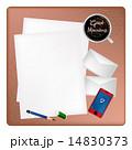 暑い 熱い 封筒のイラスト 14830373