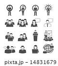 セット 組み合わせ アイコンのイラスト 14831679