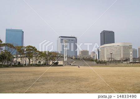 大阪城公園にある太陽の広場(大阪市中央区) 14833490